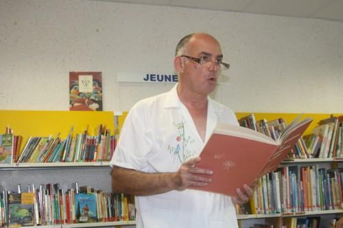 Michel SIDOBRE : lectures en médiathèque