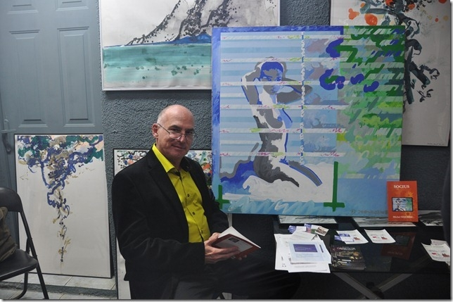 Michel SIDOBRE lectures à l'Atelier BORRUT de Lapalme