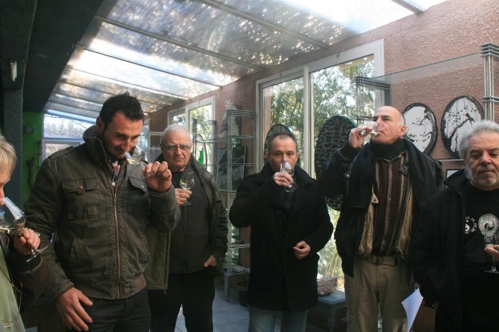 Michel SIDOBRE : Odes à Bacchus en l'Atelier Borrut