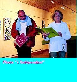 Michel Sidobre: Lectures à la Poudrière, Narbonne