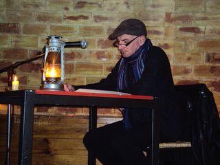 Michel Sidobre lit la Légende de la Guinguette au Tournebelle