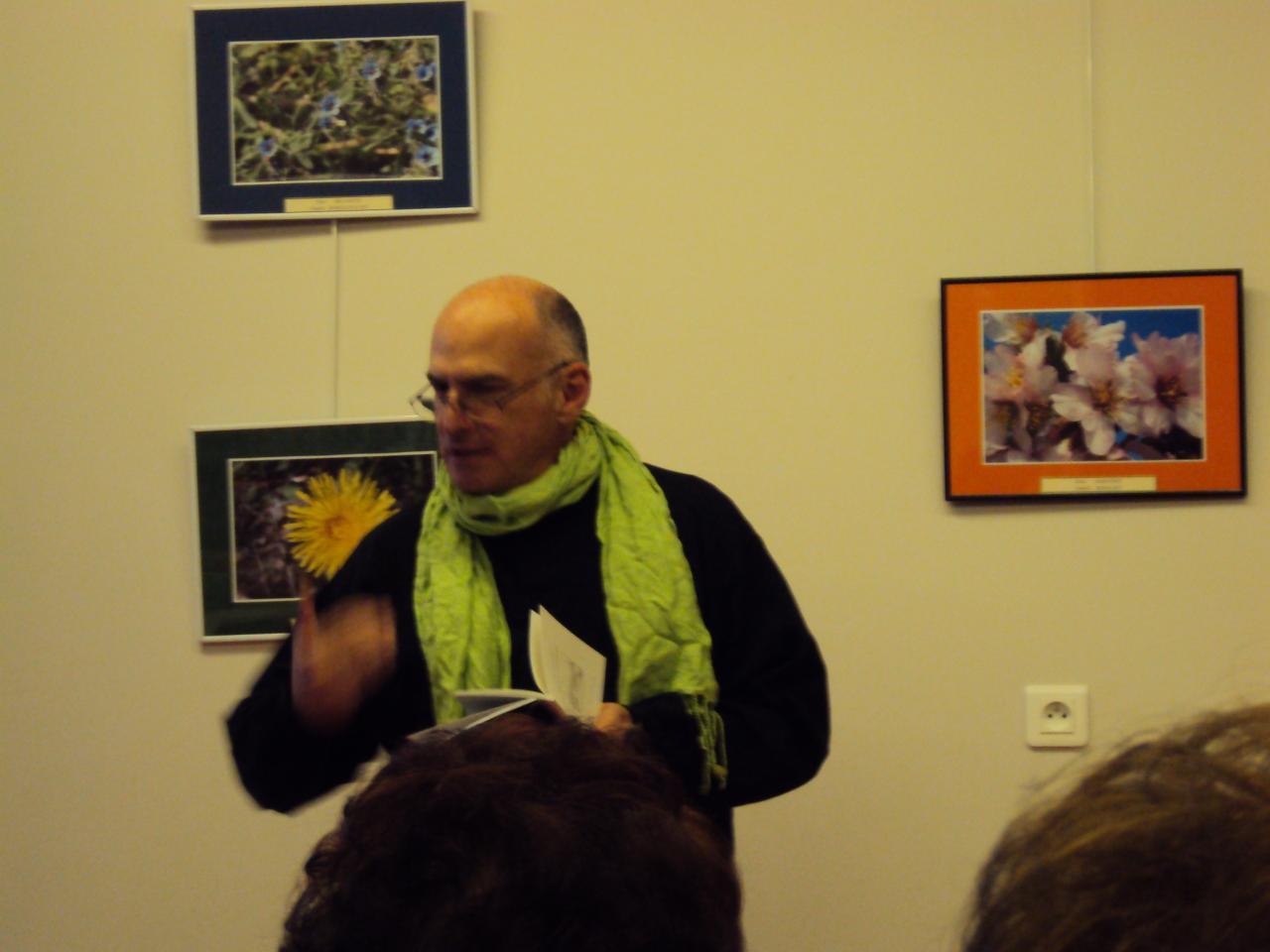 Michel Sidobre lectures à la médiathèque