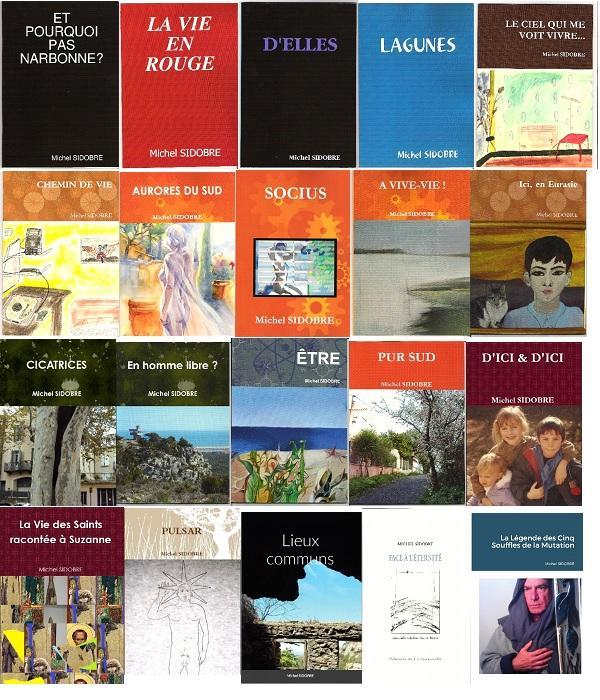 Michel sidobre les recueils 2